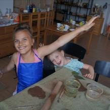 Керамика (лепка из глины) для детей